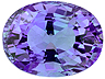 Tanzanite Single Oval Eye clean to Slightly included
