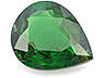 Tsavorite Single Pear Moderately included