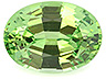 Tsavorite Single Oval Eye clean