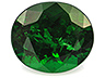 Tsavorite Closeout Oval Moderately included