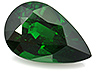 Tsavorite Single Pear Slightly included