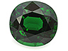 Chrome Tourmaline Single Oval Eye clean