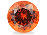 Hessonite Round 1.246 CTS