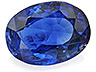 Kyanite Single Oval Moderately included