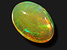 Opal  Oval Translucent