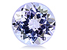 Tanzanite Calibrated Round Eye clean to Slightly included