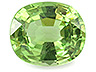 Tsavorite Single Cushion Slightly to Moderately included