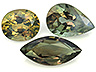 Alexandrite Mixed Lot Mixed shapes Slightly to Moderately included