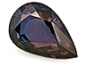 Alexandrite Single Pear Eye clean to Slightly included