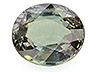 Alexandrite Single Oval Slightly to Moderately included