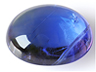 Tanzanite Single Oval Translucent