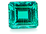 Emerald Single Octagon Slightly included
