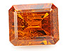 Bastnasite Single Octagon Moderately included