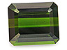 Tourmaline Single Octagon Slightly included
