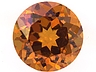 Hessonite Round 0.670 CTS