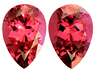 Rhodolite Pear 1.700 CTS