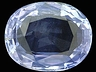 Sapphire Single Oval Slightly included