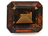 Pargasite Single Octagon Slightly to Moderately included