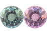 Alexandrite Calibrated Round Eye clean to Slightly included
