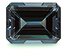 Alexandrite Single Octagon Eye clean