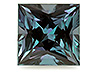 Alexandrite Calibrated Square Eye clean to Slightly included
