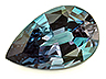 Alexandrite Single Pear Eye clean