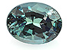 Alexandrite Single Oval Eye clean to Slightly included