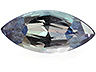 Alexandrite Single Marquise Moderately to Heavily included