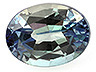 Alexandrite Single Oval Moderately included