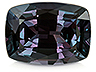 Alexandrite Single Cushion Eye clean
