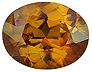 Bastnasite Single Oval Slightly included