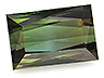 Tourmaline Single Rectangle Eye clean