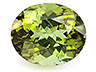 Tourmaline Single Oval Moderately included