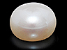 Freshwater Pearl Calibrated Button Opaque
