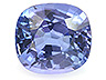 Tanzanite Single Cushion Eye clean to Slightly included