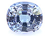 Tanzanite Single Oval Eye clean