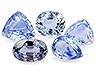 Sapphire Mixed Lot Mixed shapes Eyeclean to Moderately included