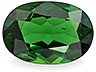 Chrome Tourmaline Single Oval Slightly included