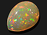 Opal Single Pear Translucent