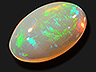 Opal Single Oval Translucent