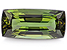 Diopside Single Cushion Eye clean